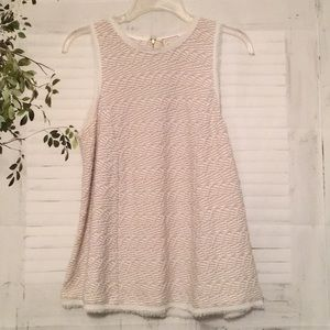 9-H15 S'CL sleeveless top sz M
